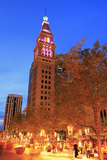 Daniel's and Fisher Tower  16th Street Mall  Denver  Colorado  United States of America