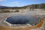 Crested Pool  Upper Geyser Basin  Yellowstone Nat'l Park  UNESCO World Heritage Site  Wyoming  USA