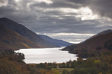 Loch Shiel under Heavy Storm Clouds  Argyll and Bute  Scotland  United Kingdom  Europe