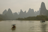 Li River  Guilin  Guangxi  China  Asia