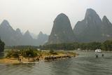 Li River  Guilin  Guangxi  China  Asia
