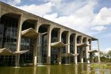 Palacio da Justica  Brasilia  UNESCO World Heritage Site  Brazil  South America