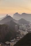 View of Urca and Botafogo  Rio de Janeiro  Brazil  South America