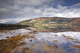 The Surrounding Countryside and Hills are Reflected in Loch Leven  Argyll and Bute  Scotland  UK
