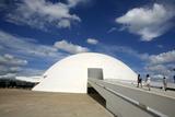 Museo Nacional (Nat'l Museum) Designed by Oscar Niemeyer  Brasilia  UNESCO Site  Brazil
