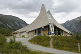 Jostedal Glacier Visitors Center  Jostedal  Sogn Og Fjordane  Norway  Scandinavia  Europe
