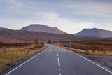 The Main Road Through Rannoch Moor  a Site of Special Scientific Interest  Highlands  Scotland  UK