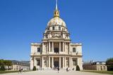 Eglise Du Dome  Les Invalides  Paris  France  Europe