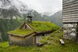 Hiking Along Geirangerfjorden  Near Skagefla  Geiranger  UNESCO Site  More Og Romsdal  Norway