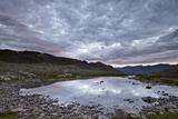Clouds Reflected in a Tarn at Stony Pass  San Juan National Forest  Colorado  USA