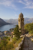 Chapel of Our Lady of Salvation and View over Old Town  Kotor  UNESCO Site  Montenegro