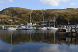 Boats in the Harbour  Mallaig  Highlands  Scotland  United Kingdom  Europe