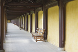 A Walkway  Imperial Citadel  Hue  UNESCO World Heritage Site  Vietnam  Indochina  Southeast Asia