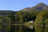 Waterside Cottage  Inveruglas  Loch Lomond  Stirling  Scotland  United Kingdom  Europe