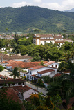 View over Parati Seen from the Fort  Rio de Janeiro State  Brazil  South America