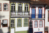 Colourful Houses  Ouro Preto  UNESCO World Heritage Site  Minas Gerais  Brazil  South America