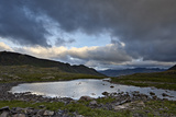 Cloudy Sky Above an Alpine Tarn  San Juan National Forest  Colorado  United States of America