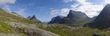 Mountains Near Trollstigen  More Og Romsdal  Norway  Scandinavia  Europe