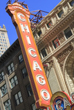 The Chicago Theater Sign Has Become an Iconic Symbol of the City  Chicago  Illinois  USA