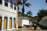 Typical Colonial Houses in the Historic Part of Parati  Rio de Janeiro State  Brazil  South America