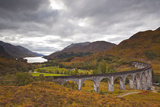 The Magnificent Glenfinnan Viaduct in the Scottish Highlands  Argyll and Bute  Scotland  UK