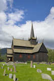 Lom Stave Church  Lom  Oppland  Norway  Scandinavia  Europe