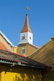 Dutch Architecture in Kralendijk Capital of Bonaire  ABC Islands  Netherlands Antilles  Caribbean