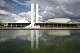 Congresso Nacional (Nat'l Congress) Designed by Oscar Niemeyer  Brasilia  UNESCO Site  Brazil