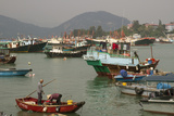 Harbour  Cheung Chau Island  Hong Kong  China  Asia