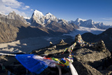 View from Gokyo Ri  5300 Metres  Dudh Kosi Valley  Solu Khumbu (Everest) Region  Nepal  Himalayas