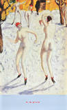 Dancers in the Snow