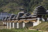 Bridge at Longsheng  Guangxi  China  Asia