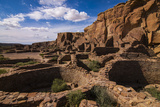 Chaco Ruins in the Chaco Culture Nat'l Historic Park  UNESCO World Heritage Site  New Mexico  USA