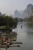 Yulong River  Yangshuo  Guangxi  China  Asia