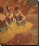 Three Dancers in Yellow Skirts  1891