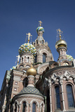 The Church of Spilled Blood  UNESCO World Heritage Site  St Petersburg  Russia
