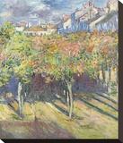 Les Tilleuls a Poissy  1882