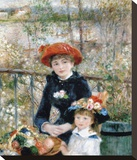 The Two Sisters on the Terrace  1881