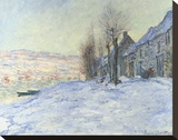 Lavacourt  under Snow  ca 1878-1881