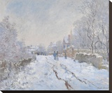 Snow at Argenteuil  1875