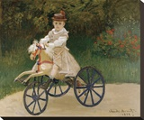 Jean Monet on his Hobby Horse  1872