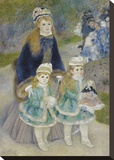 Mother and Children (La Promenade)  from 1874 until 1876