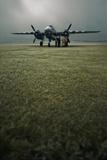 B-25 Mitchell Bomber at Dawn