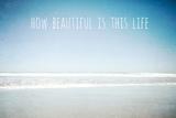 How Beautiful Is This Life Papier Photo par Susannah Tucker