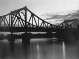 The Glienicke Bridge in Potsdam  1934