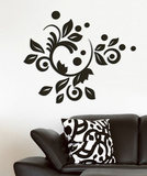 Romantic Bloom 3D Foam Wall Decals