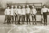 Ice hockey team of the Leipzig Sports Club  1907