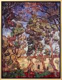 Trees in the Garden of Saint-Paul Hospital