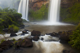 Small Cascades End in a Pool at Iguazu Falls