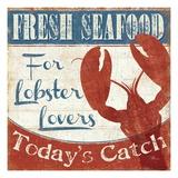 Fresh Seafood I Giclée premium par Pela